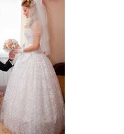 Свадебное платье одевалось один раз